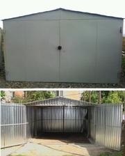 металлический гараж сборно-разборной