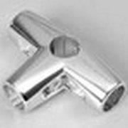 Соединитель 4-х труб,  хромированный фиксированный,  581/R-44
