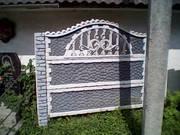оборудование для производства декоративных бетонных заборов