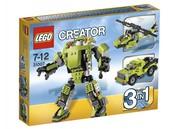 Дешево!!! Бесплатная доставка Lego Creator «Крутой робот 3 в 1» 31007