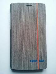 Чехол-книжка + силиконовый бампер для Homtom Ht7