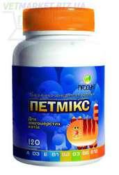 Витамины Петмикс для длинношерстных кошек и котят (150 табл..)