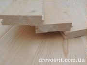 Дерев'яна соснова дошка для підлоги.