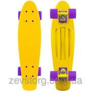 Скейтборд скейт Penny Board желтый