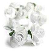 Букетики цветов для скрапбукинга